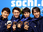 ソチオリンピック(五輪) 長野以来、16年ぶりの表彰台