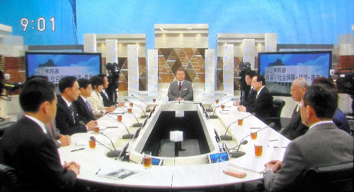 NHK「日曜討論」から