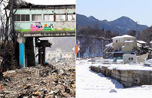 岩手県山田町(震災1年)