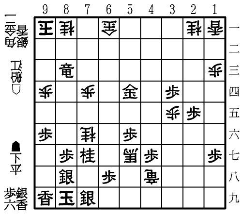 図:▲8三竜まで