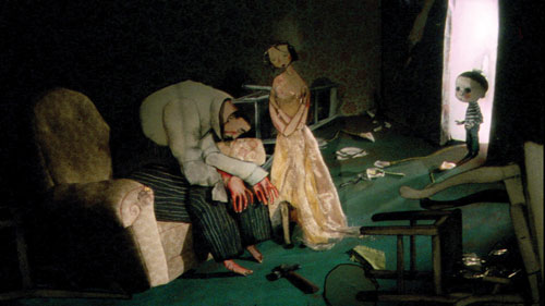 写真:「アングリー・マン」は家庭内暴力が主題=以上、広島国際アニメーションフェスティバル事務局提供