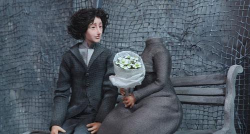 写真:「ダニー・ボーイ」は首のある男とない女の恋を描く
