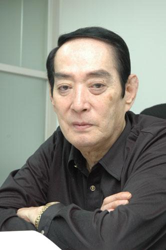 写真:西崎義展プロデューサー=2009年11月、小原写す