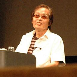 写真:広島国際アニメーションフェスティバルで「鉄腕アトム」の演出家を集めたトークショーに出た出崎統さん=2008年撮影