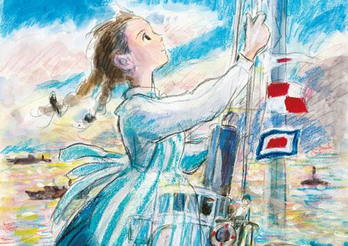 写真:映画「コクリコ坂から」メーンビジュアル (C)2011 高橋千鶴・佐山哲郎・GNDHDDT