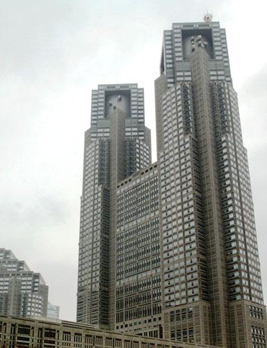 写真:行ってきました東京都庁