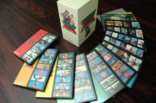 写真:石ノ森章太郎原作のテレビ作品第1話を集めた「石ノ森章太郎 生誕70周年DVD−BOX」(東映)も参考に。買っておいてよかった