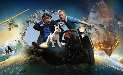 写真:「タンタンの冒険 ユニコーン号の秘密」 (C)2011 Paramount Pictures.All Rights Reserved.