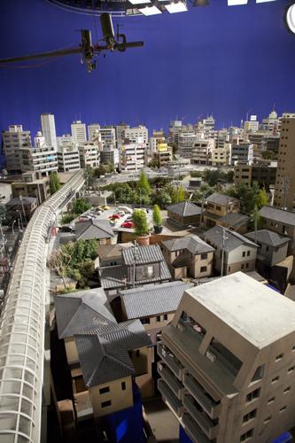 写真:映画「巨神兵東京に現わる」撮影セット
