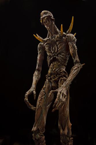 写真:映画に出てくる巨神兵はこんな感じらしいです。竹谷隆之作「巨神兵像」 (C)2012 二馬力・G