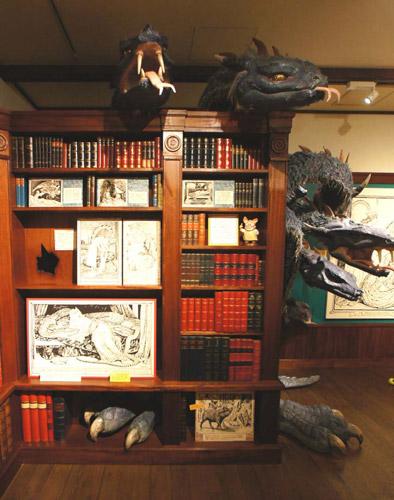 写真:こんなドラゴンも迎えてくれます (c)Museo d'Arte Ghibli (c)Studio Ghibli