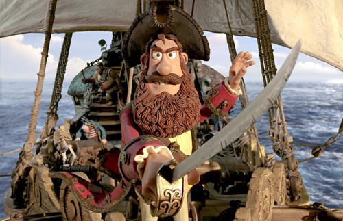 写真:伊藤さんがショックを受けたというピーター・ロード監督の長編「The Pirates! Band of Misfits」