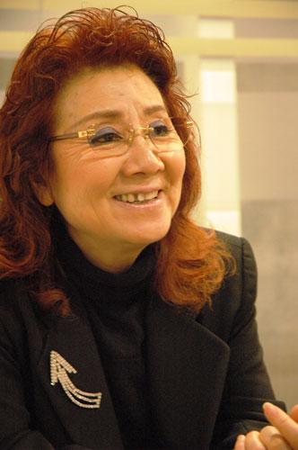 写真:アシュラを演じた声優・野沢雅子さん=2006年撮影