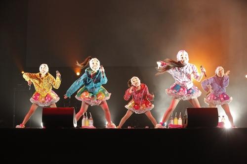 :東京2日目、リハーサル時のももいろクローバーZ。 Courtesy of SUMMER SONIC 2012 photo by Hajime Kamiiisaka