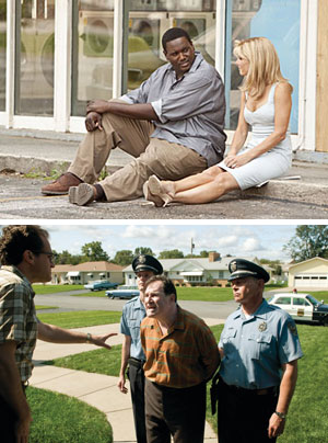 写真:写真上:しあわせの隠れ場所 (C)2009 ALCON FILM FUND, LLC ALL RIGHTS RESERVED/写真下:A Serious Man(原題)