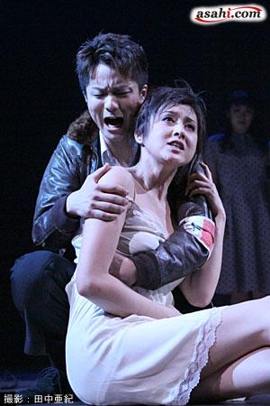 写真:ミュージカル「マルグリット」より=撮影:田中亜紀