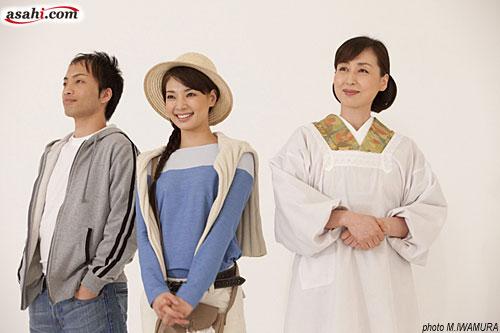 写真:「おもひでぽろぽろ」パンフレット撮影より=2月26日、撮影・岩村美佳