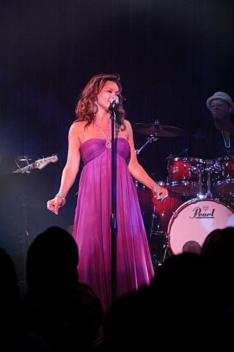 写真:ヴァネッサ・ウィリアムス ビルボードライブ大阪公演にて撮影