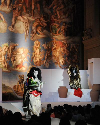 写真:第2回システィーナ歌舞伎「スサノオsusanoo」(2010年)より