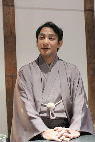 写真:「二月花形歌舞伎」に出演する片岡愛之助=撮影・橋本正人