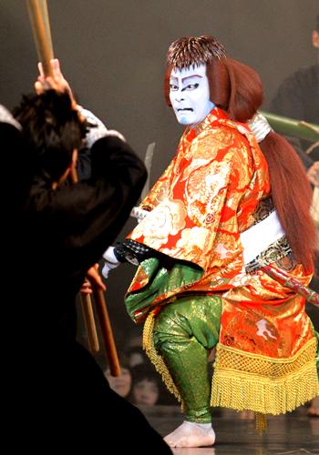 写真:第3回システィーナ歌舞伎「GOEMON 石川五右衛門」公演より=撮影・橋本正人