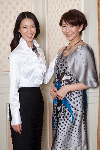 写真:「エリザベート」Wキャストで出演する春野寿美礼・瀬奈じゅん=撮影・岩村美佳