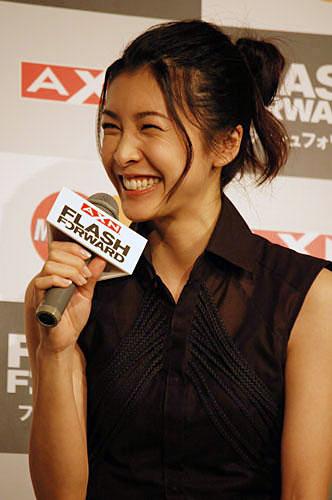 写真:笑顔がまぶしい竹内