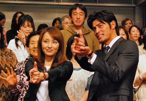 写真:視聴者を狙いうち? 坂口憲二と矢田亜希子