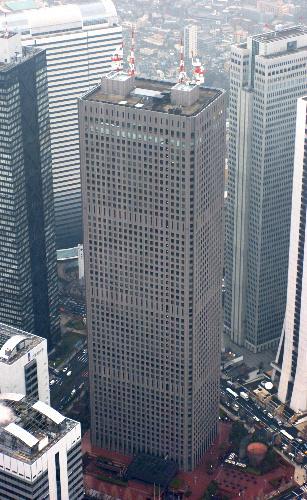 写真:新宿センタービル=2006年1月撮影