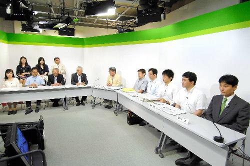 写真:経済産業省が主催した佐賀県民向けの説明=佐賀市、資源エネルギー庁提供