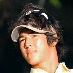 写真:今季の獲得賞金を全額寄付すると発表した石川遼選手=榊原写す