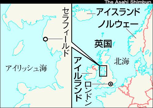 地図:英国の地図