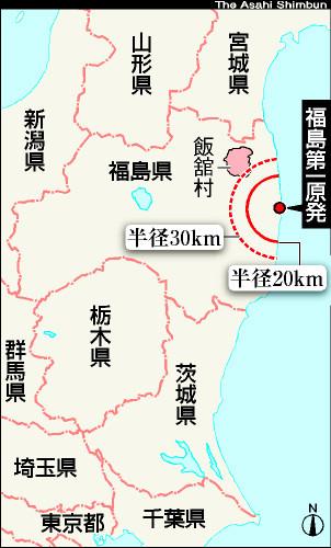 地図:福島県