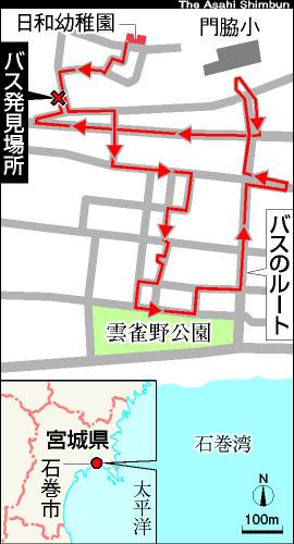 図:送迎バスのルート