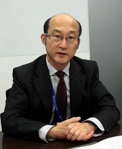 写真:ラック社のサイバーセキュリティ研究所長、伊東寛さん=東京都千代田区