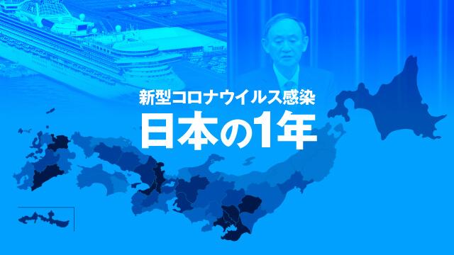 新型コロナウイルス感染 日本の1年