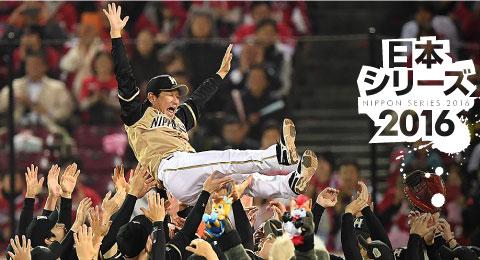 日本シリーズ2016