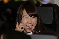 笑顔を見せる永島聖羅
