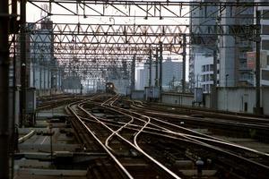 終着駅札幌に到着しようとするはまなす