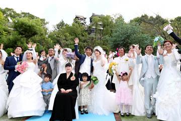 2016年10月2日 熊本市 被災10組に結婚式の贈り物