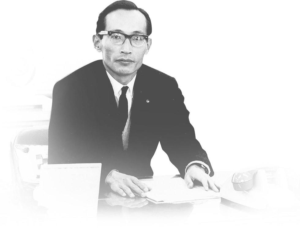 山本健一氏 1967年ごろ