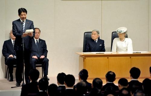 朝日新聞デジタル:首相「希望と...