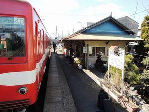 写真:銚子電鉄の仲ノ町駅