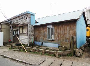 写真:銚子電鉄の本社。仲ノ町駅とつながっている