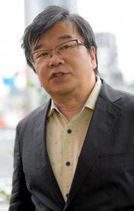 写真:コラムニストの小田嶋隆さん