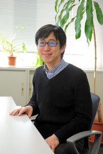 写真:東京大学空間情報科学研究センターの柴崎亮介教授