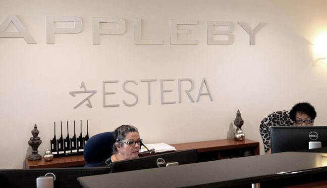 The Appleby law firm (Photo taken on Oct. 10 in Hamilton, Bermuda)