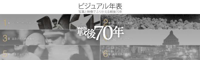 「ビジュアル年表」戦後編