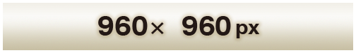 960x960px