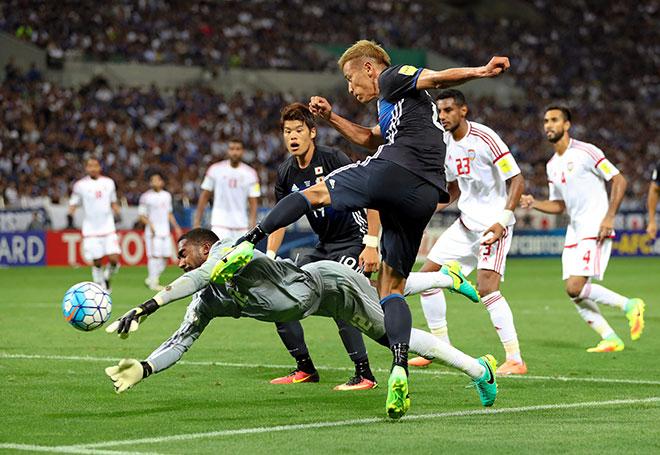日本―UAE W杯アジア最終予選